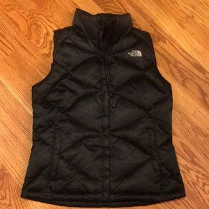 The North Face puffer quilted vest